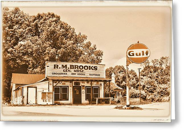 Brooks General Store Greeting Card by Ben Prepelka