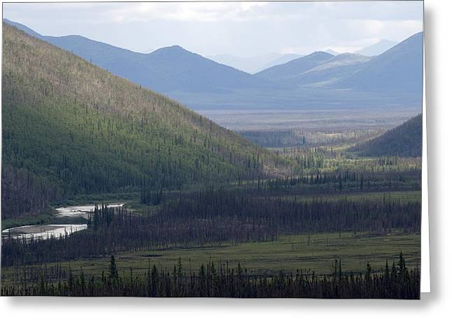 Watershed Greeting Cards - Brooks Range, Alaska Greeting Card by Michael S. Quinton