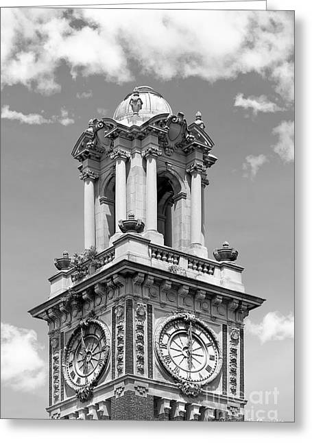 Brown University Carrie Tower Greeting Card by University Icons