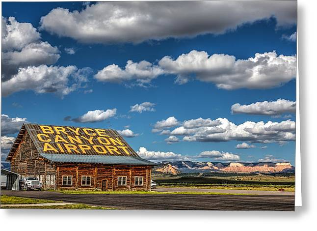 Garfield County Greeting Cards - Bryce Canyon Airport  Greeting Card by James Marvin Phelps