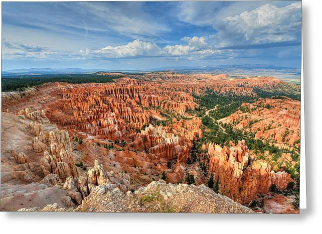 Beauty Mark Greeting Cards - Bryce Canyon Greeting Card by Mark Whitt