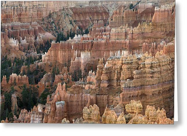 Bryce Canyon Rockscape Greeting Card by Dean Hueber