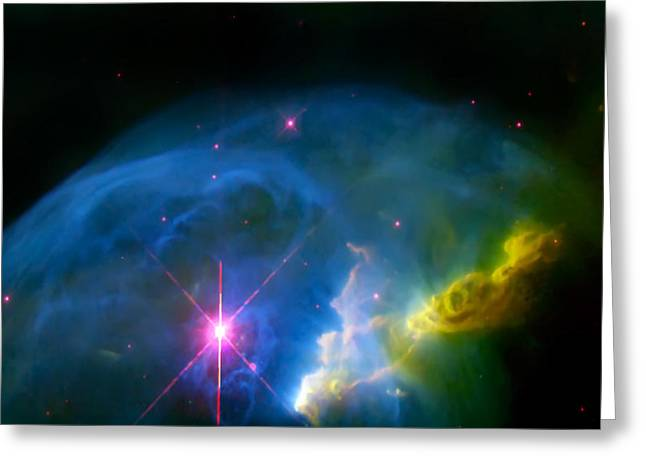 The Hatchery Greeting Cards - Bubble Nebula Greeting Card by The  Vault - Jennifer Rondinelli Reilly