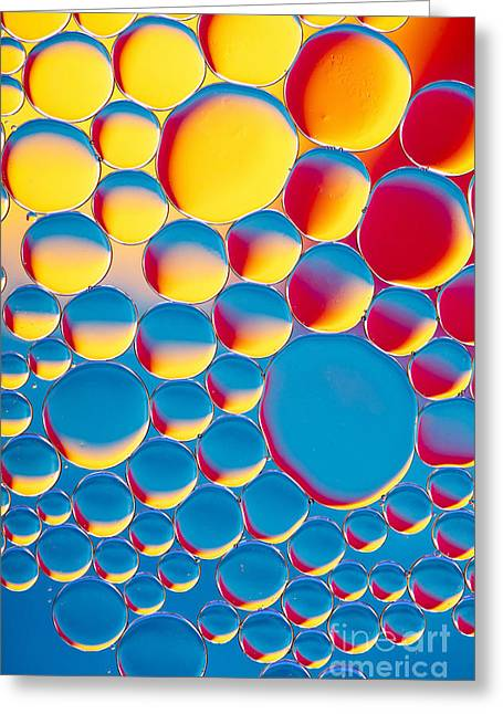 Bubblicious Greeting Card by Tim Gainey