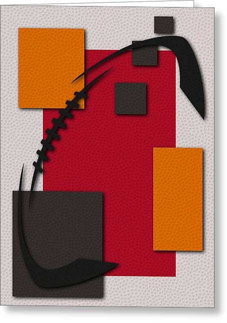 Buccaneer Greeting Cards - Buccaneers Football Art Greeting Card by Joe Hamilton