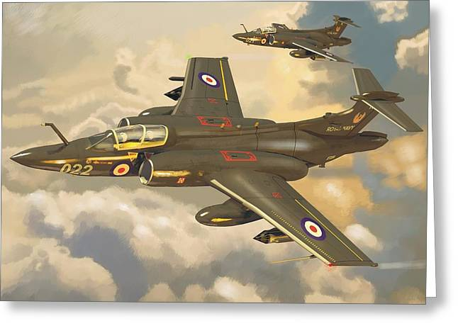 Buccaneer Greeting Cards - Buccaneers Greeting Card by Peter Bratt