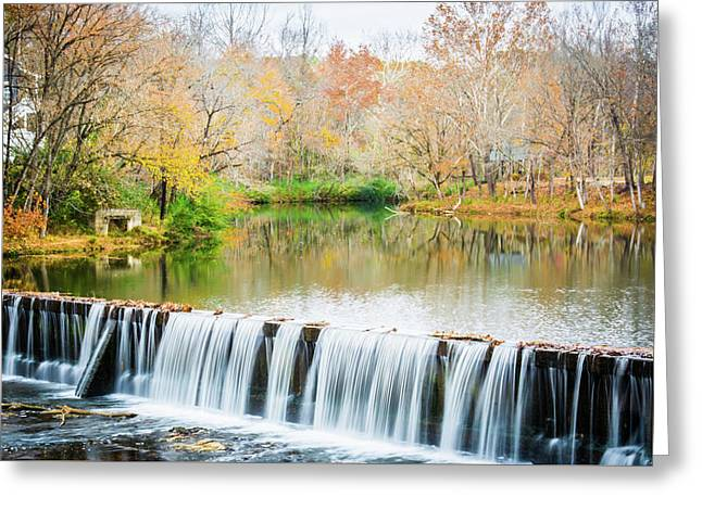 Buck Creek Greeting Card by Parker Cunningham