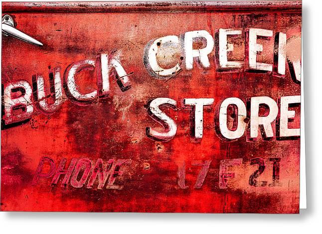 Buck Creek Store Greeting Card by Todd Klassy