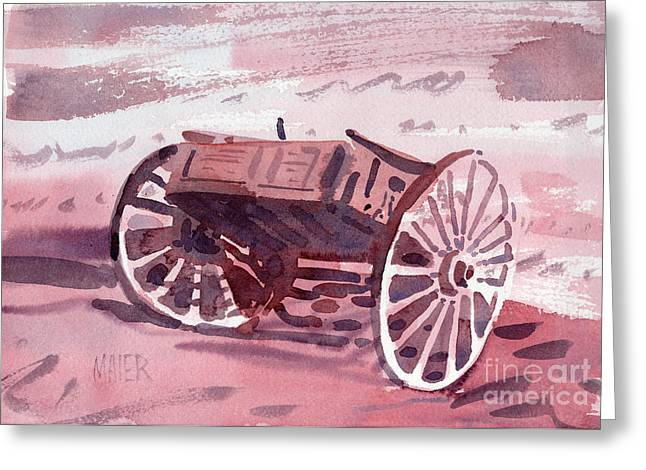 Buckboard Greeting Cards - Buckboard Greeting Card by Donald Maier