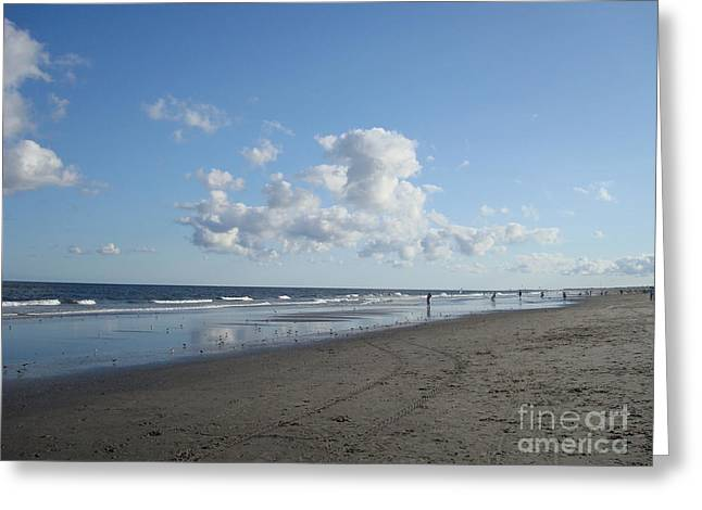 My Ocean Greeting Cards - Bucolic Beach Day Greeting Card by B Rossitto
