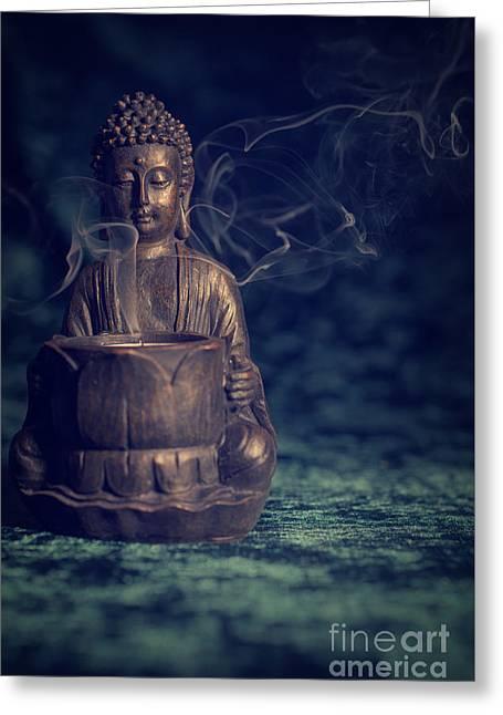 Buddah Greeting Cards - Buddah Greeting Card by Amanda And Christopher Elwell