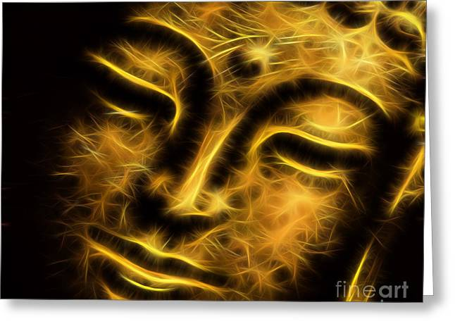 Buddah Collection Greeting Card by Marvin Blaine