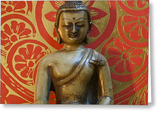 Buddha 2 Greeting Card by Edward Myers