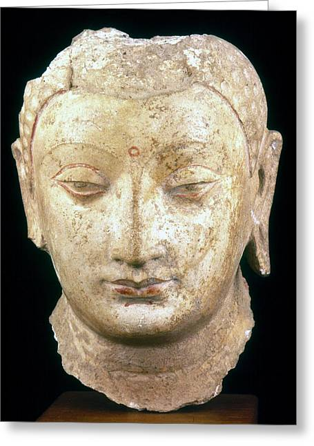 4th Greeting Cards - BUDDHA, 4th-7th CENTURY Greeting Card by Granger
