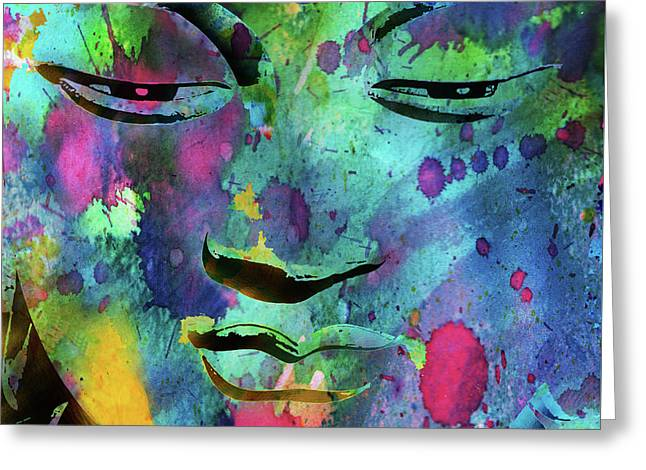 Buddha Nature  Greeting Card by Stephen Humphries