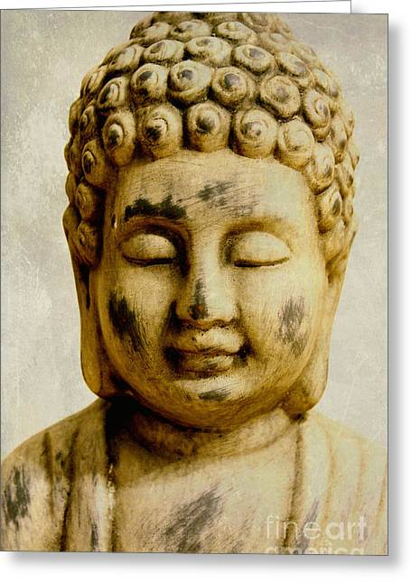 Still Life Photography Greeting Cards - Buddha Greeting Card by SK Pfphotography