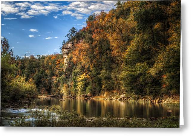 Buffalo National River Greeting Card by James Barber