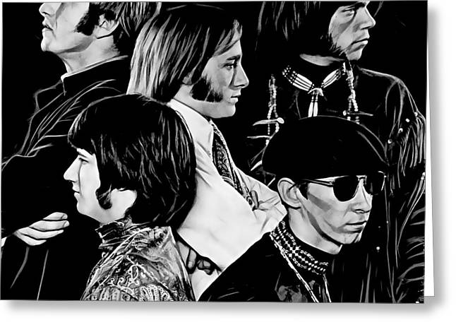Buffalo Greeting Cards - Buffalo Springfield Collection Greeting Card by Marvin Blaine