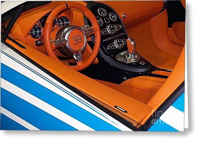Bugatti Greeting Card by Marvin Blaine