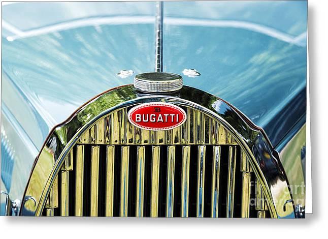 Bugatti Vintage Car Greeting Cards - Bugatti  Greeting Card by Tim Gainey
