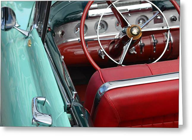 Steering Greeting Cards - Buick Flair Greeting Card by Anthony Robinson