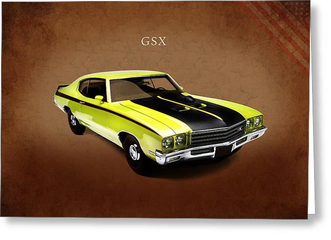 Buick Gsx 1971 Greeting Card by Mark Rogan
