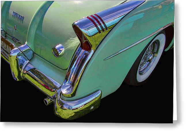Collector Hood Ornament Greeting Cards - Buick Skylark Convertible Greeting Card by Nick Gray