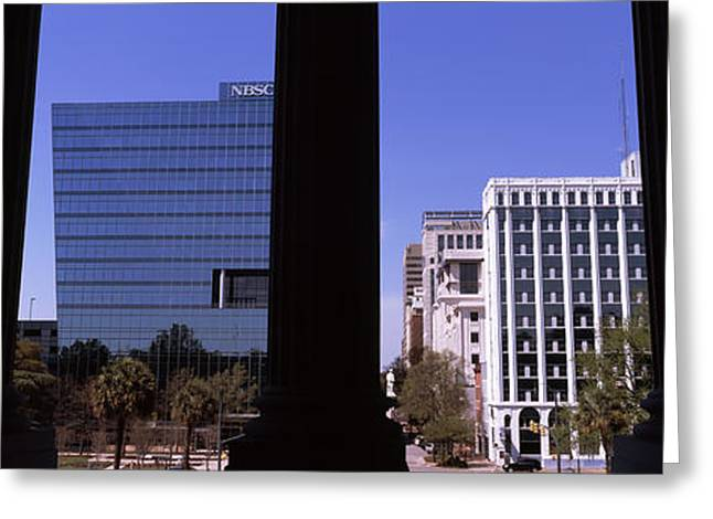 Buildings Viewed From South Carolina Greeting Card by Panoramic Images
