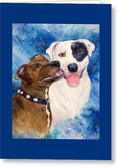 Bullie Greeting Cards - Bullie Buds Greeting Card by Bette Orr
