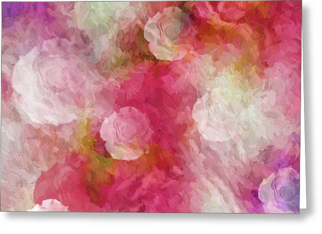 Sherri Painting Greeting Card featuring the digital art Bundle Of Love by Sherri Of Palm Springs