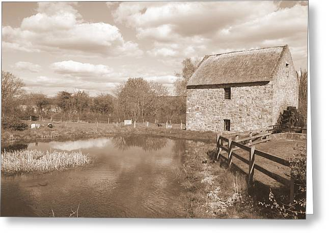 Bunratty Mill Greeting Card by John Quinn