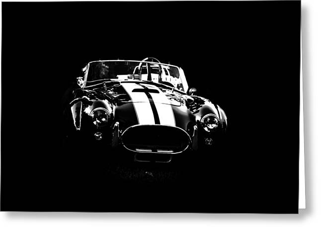 Go Daddy Greeting Cards - Ford Cobra Greeting Card by Esther Kather