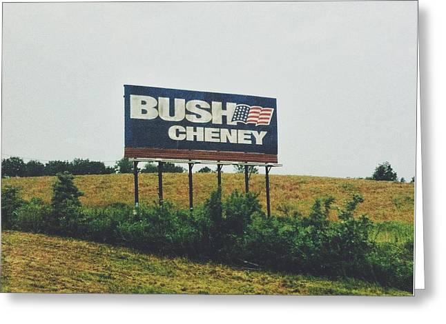 Bush Cheney 2011 Greeting Card by Dylan Murphy