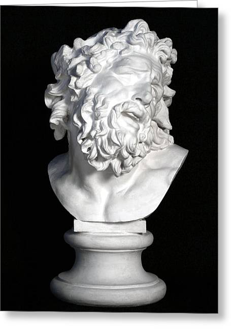 Bust Sculptures Greeting Cards - Bust of Laocoon Greeting Card by Andrea Felice