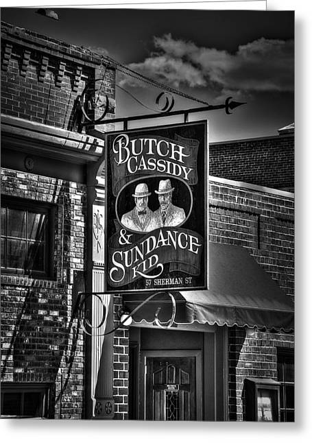 Butch Cassidy And The Sundance Kid Greeting Card by Deborah Klubertanz