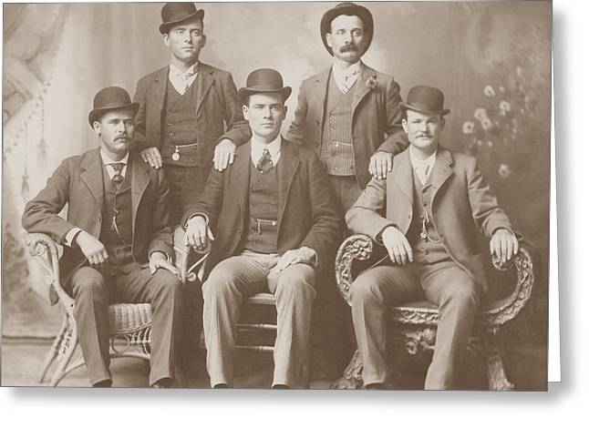Butch Cassidy - Sundance Kid - Wild Bunch  Greeting Card by War Is Hell Store