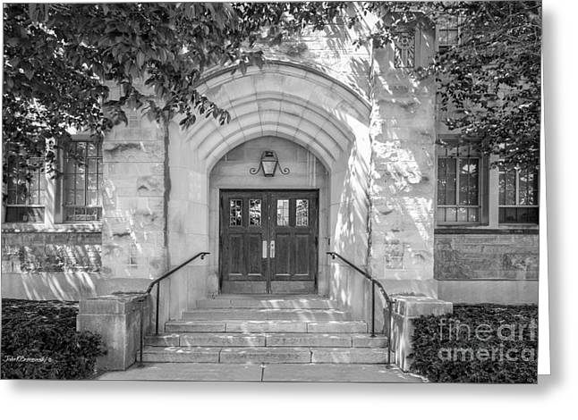 Butler University Doorway Greeting Card by University Icons