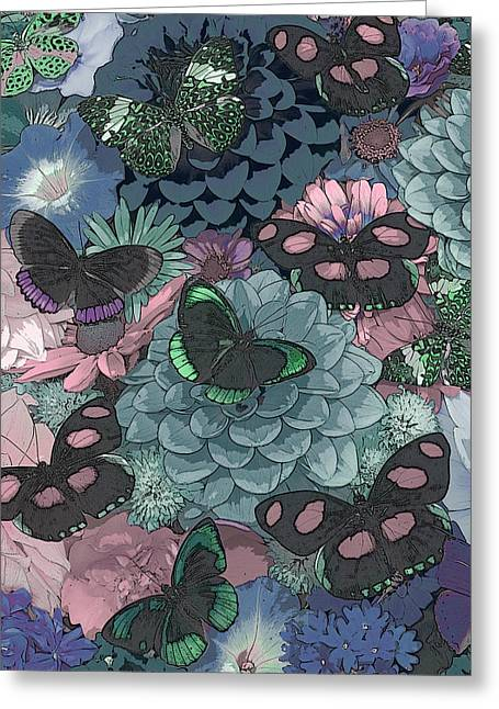 Butterfly Paintings Greeting Cards - Butterflies Greeting Card by JQ Licensing