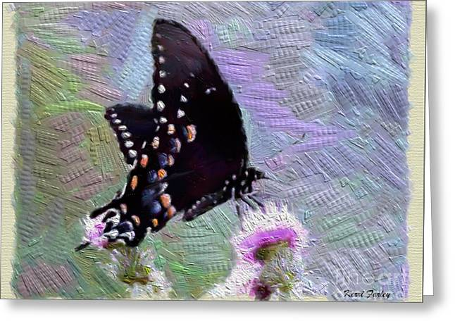 Best Sellers -  - Unique Art Greeting Cards - Butterfly Beauty  Greeting Card by Kerri Farley