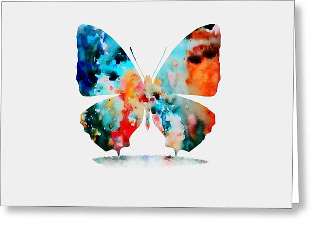 Butterfly Greeting Card by Brian Reaves