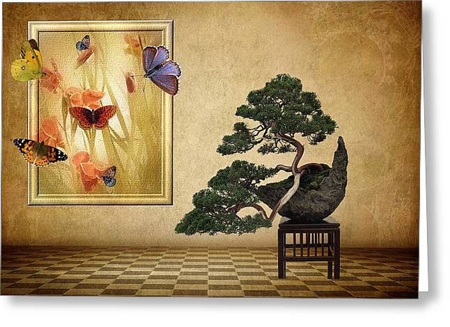 Fantasy Picture Greeting Cards - Butterfly Collection Greeting Card by Jessica Jenney