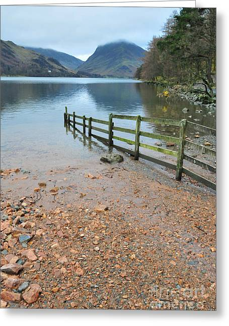 Buttermere Greeting Card by Stephen Smith