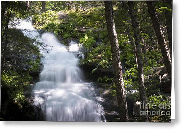Buttermilk Falls Greeting Cards - Buttermilk Falls Closeup Greeting Card by Jeffrey Miklush