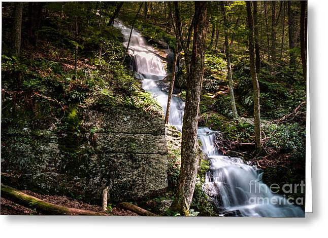 Buttermilk Falls Greeting Cards - Buttermilk Falls Greeting Card by Jeffrey Miklush