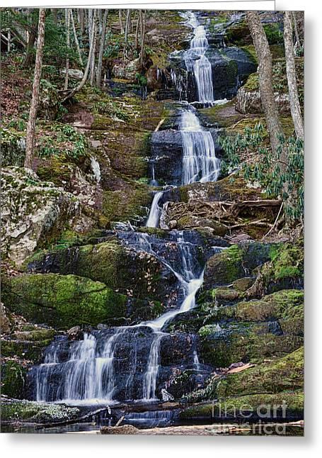Buttermilk Falls Greeting Card by Paul Ward