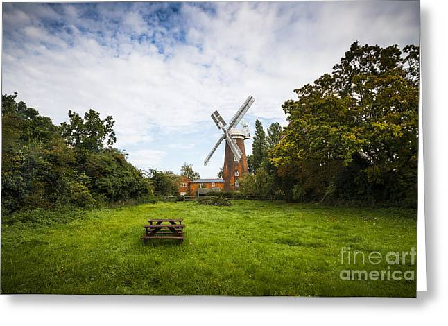 Buttrums Mill Greeting Card by Svetlana Sewell