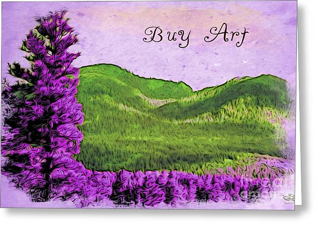 Purchase Greeting Cards - Buy Art Greeting Card by Beauty For God