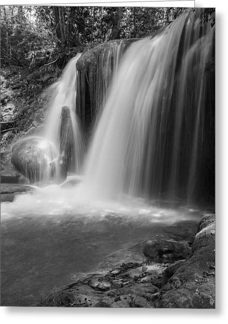 Roberto Greeting Cards - Cascade Greeting Card by Jurgen Lorenzen