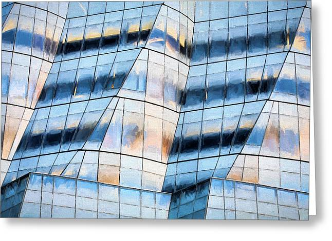 by  Frank Gehry Greeting Card by JC Findley