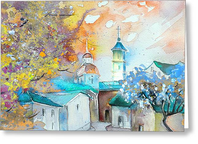 Teruel Greeting Cards - By Teruel Spain 03 Greeting Card by Miki De Goodaboom